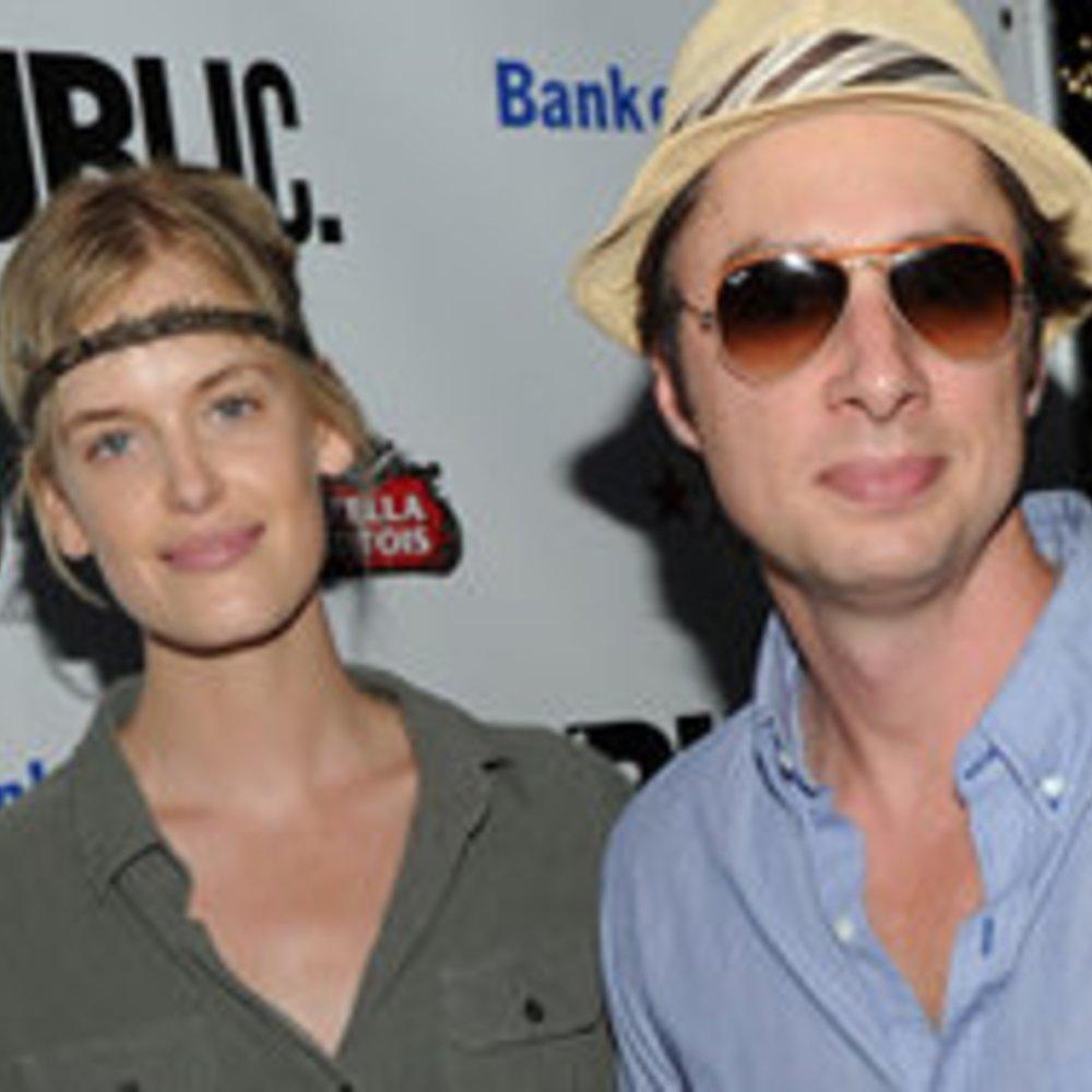 Zach Braff und Model-Freundin Taylor Bagley!