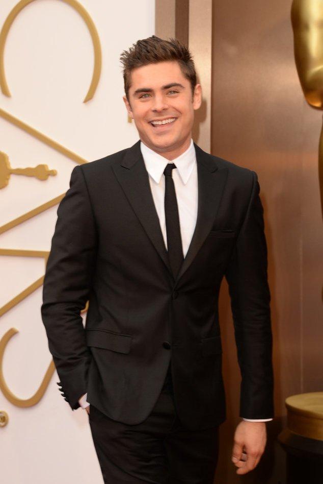 Zac Efron bei der Oscar-Verleihung