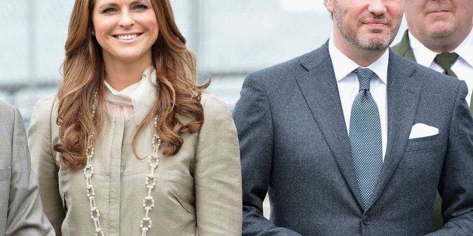 Prinzessin Madeleine: Chris O'Neill freut sich auf das gemeinsame Baby