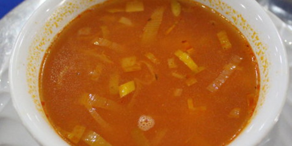 Kürbis Ingwer Suppe