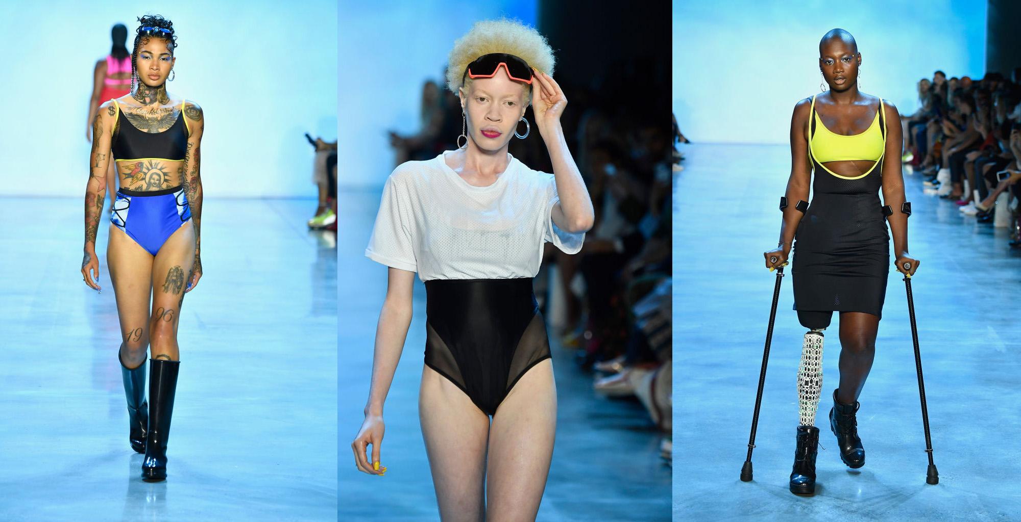 Inklusion und Diversität auf der New Yoek Fashion Week 2018 Chromat Show