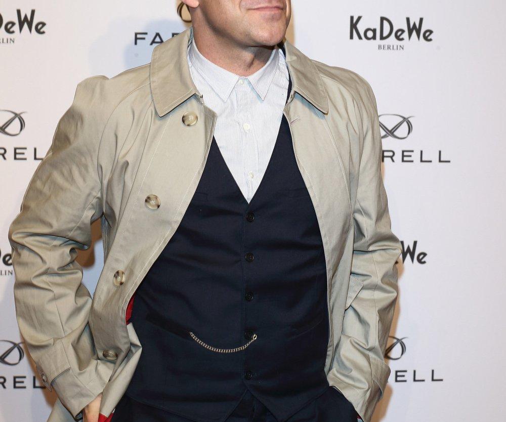 Robbie Williams ließ sich einen Teddybären tätowieren