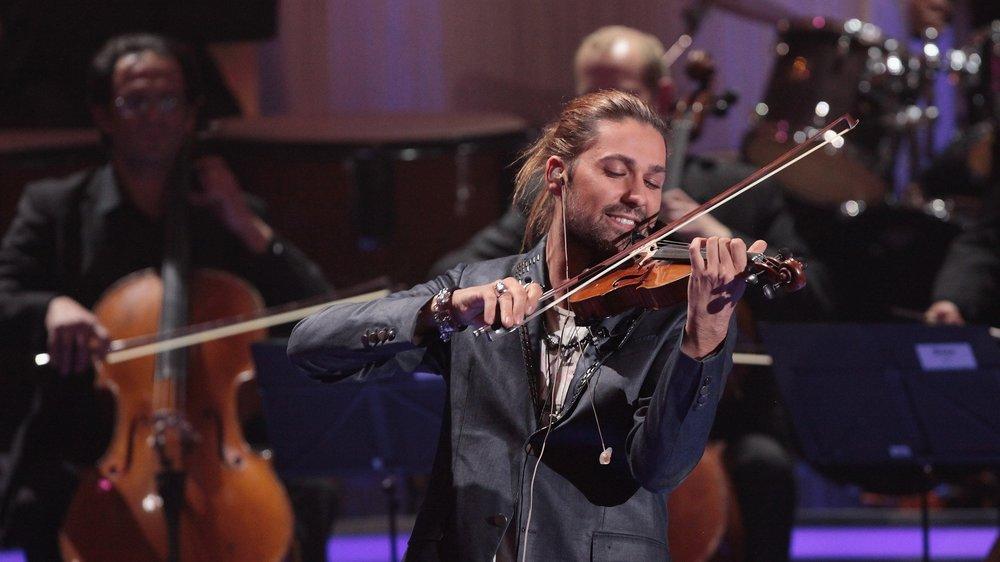 David Garrett spielt nicht täglich auf seiner Geige