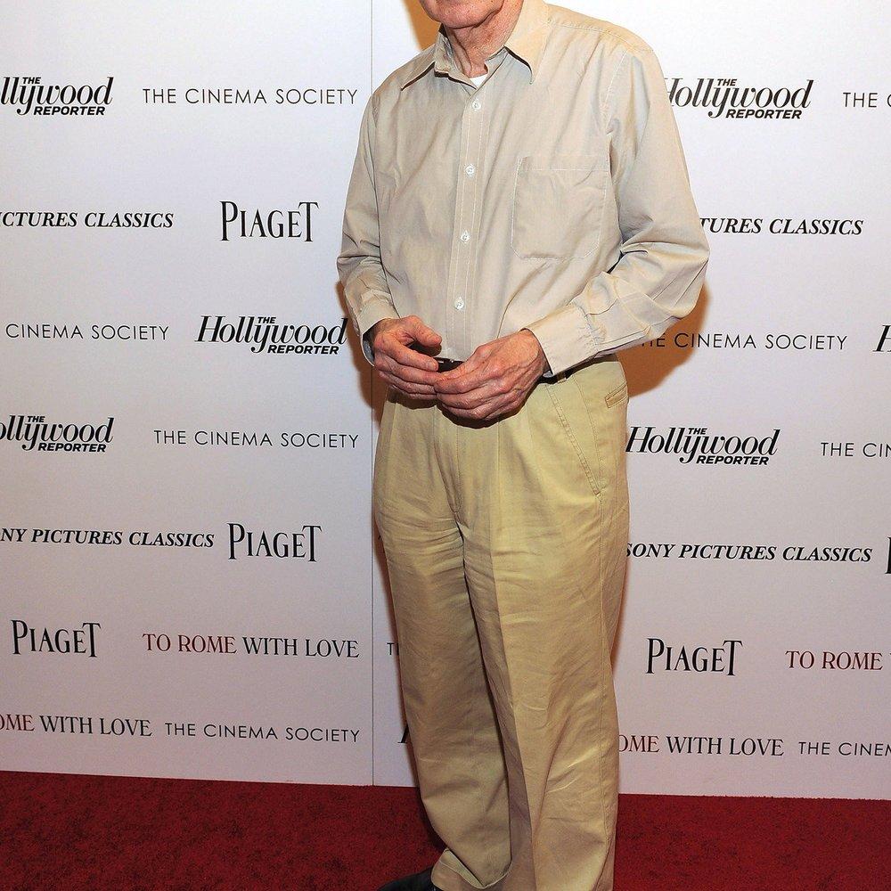 Woody Allen: Inspiration beim Duschen