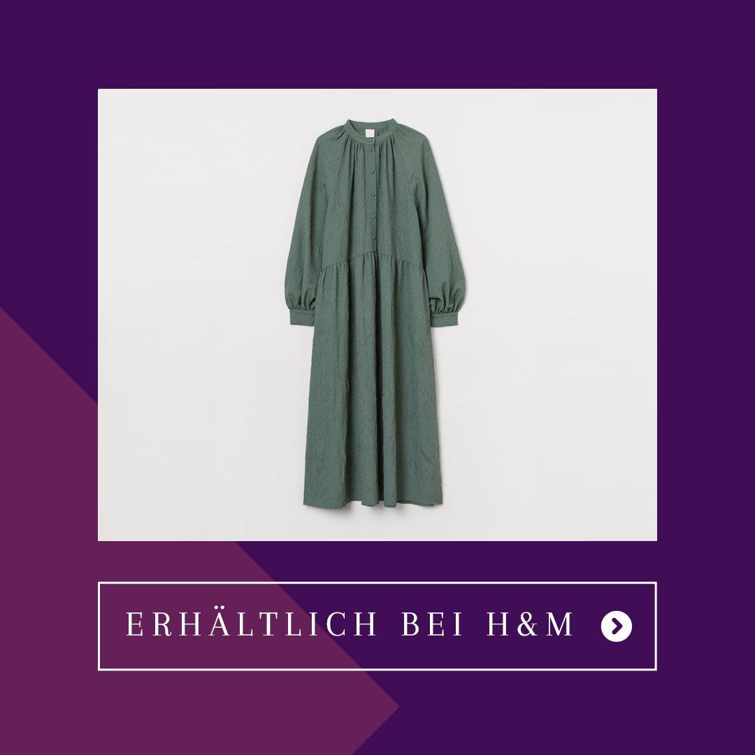 Herbst Capsule Wardrobe Kleid H&M