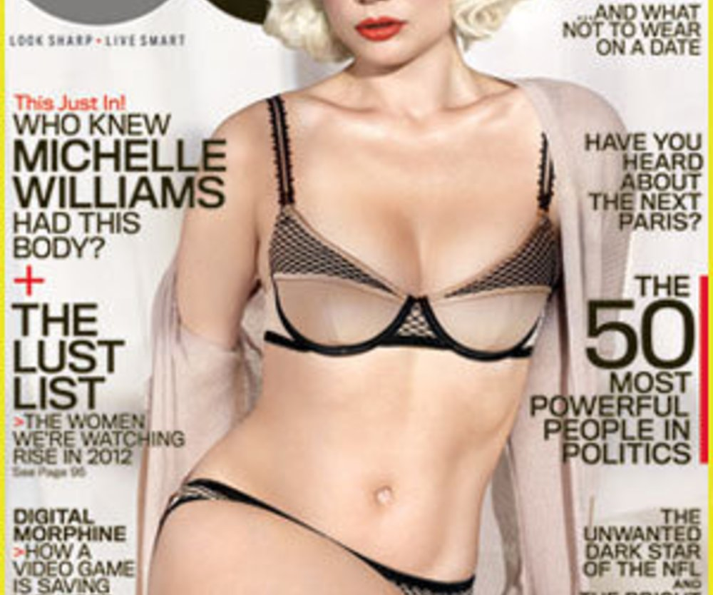 Michelle Williams als Covergirl