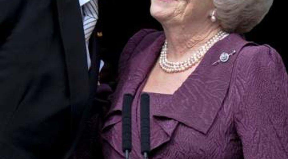 Bei ihrer Abdankung kämpfte Königin Beatrix mit den Tränen.