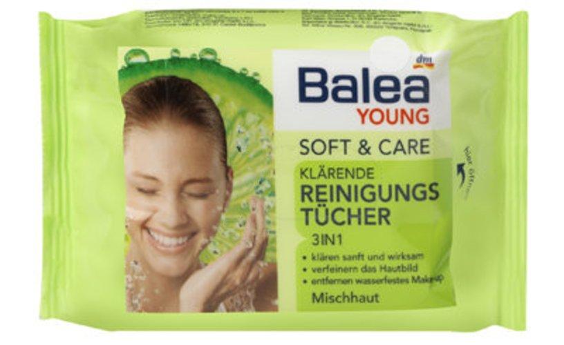 Balea YOUNG Soft + Care Klärende Reinigungstücher: Beauty Tipps für die Festival-Saison