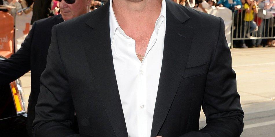 Brad Pitt hat wieder kurze Haare!