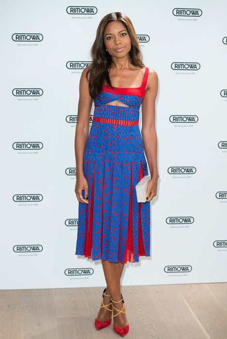 LONDON, ENGLAND - JUNE 29: Naomie Harris arrives for the RIMOWA store opening on June 29, 2016 in London, England. (Photo by Jeff Spicer/Getty Images)
