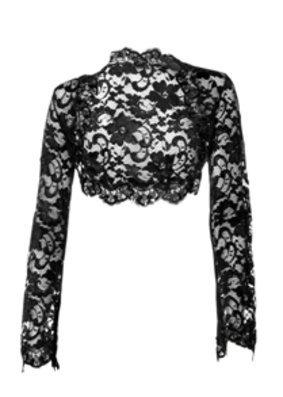 Spitzenbolero von Heine: Modetrends Herbst 2010