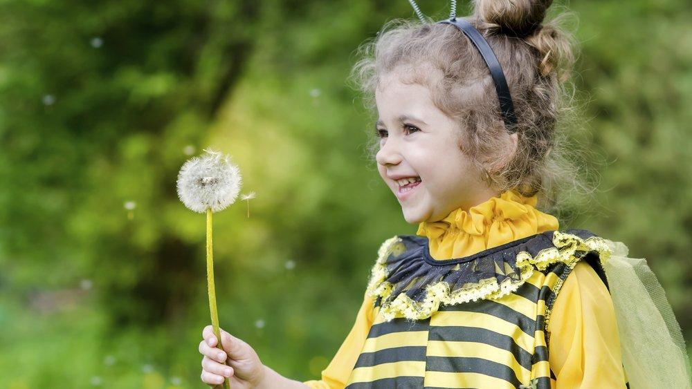 Als süße Biene sieht Dein Schatz bestimmt super aus!