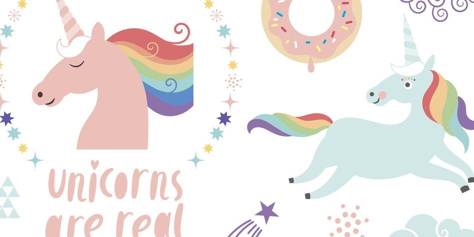 Magical Unicorn clip-art.