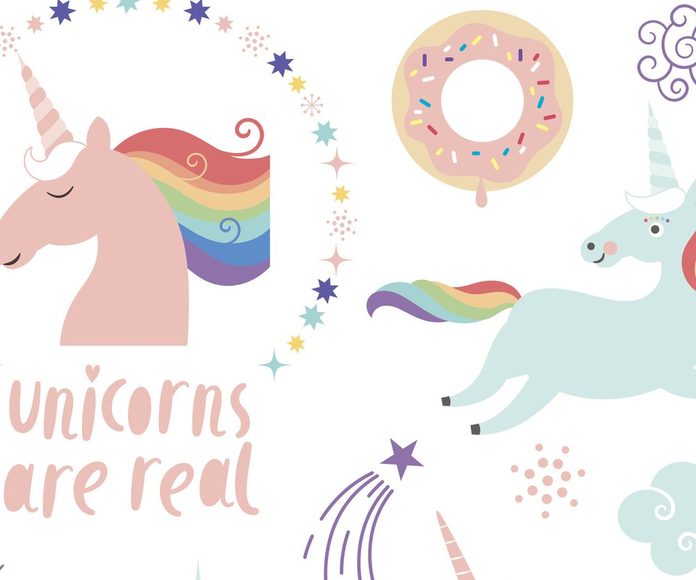 Magical Unicorn clip-art.