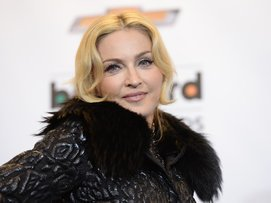 Madonna bei einer Veranstaltung