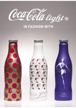 Designer Flaschen bei Coca Cola