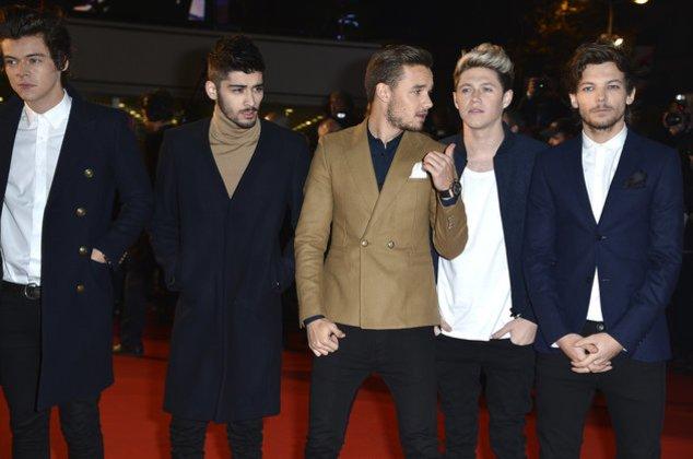 One Direction bei einer Veranstaltung in Cannes im Dezember 2013