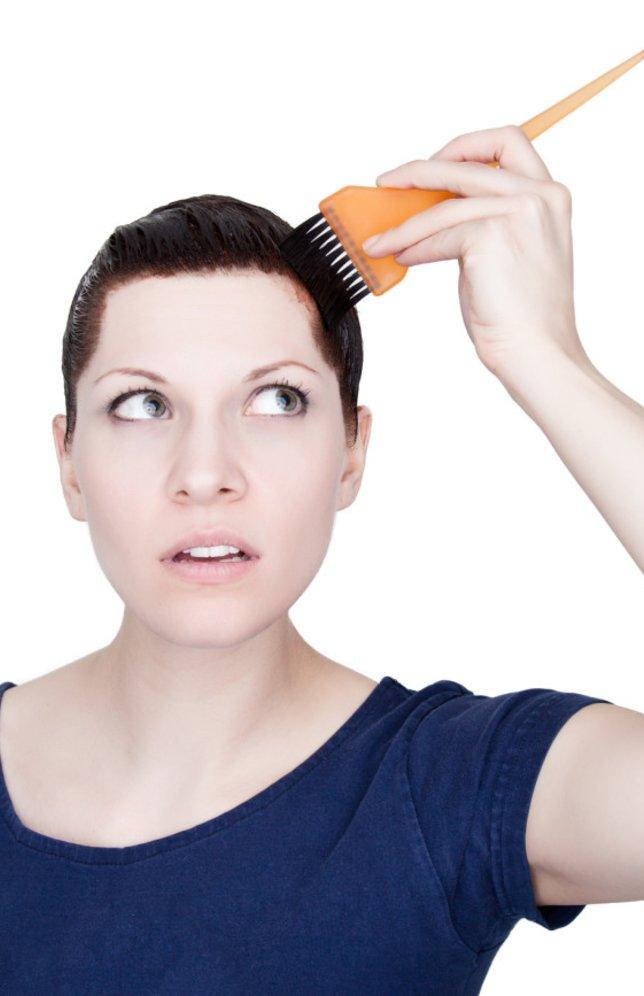 Haarfarbe entfernen