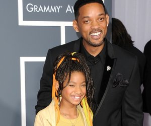 LOS ANGELES, CA - FEBRUARY 13: Singer Willow Smith and actor Will Smith arrive at The 53rd Annual GRAMMY Awards held at Staples Center on February 13, 2011 in Los Angeles, California. (Photo by Jason Merritt/Getty Images)