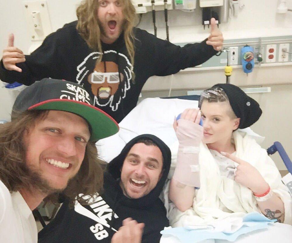 Kelly Osbourne liegt im Krankenhaus