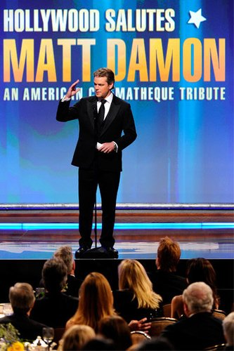 Matt Damon: Der Drehbuchautor von good Will Hunting