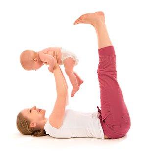 Baby-Yoga - Übungen