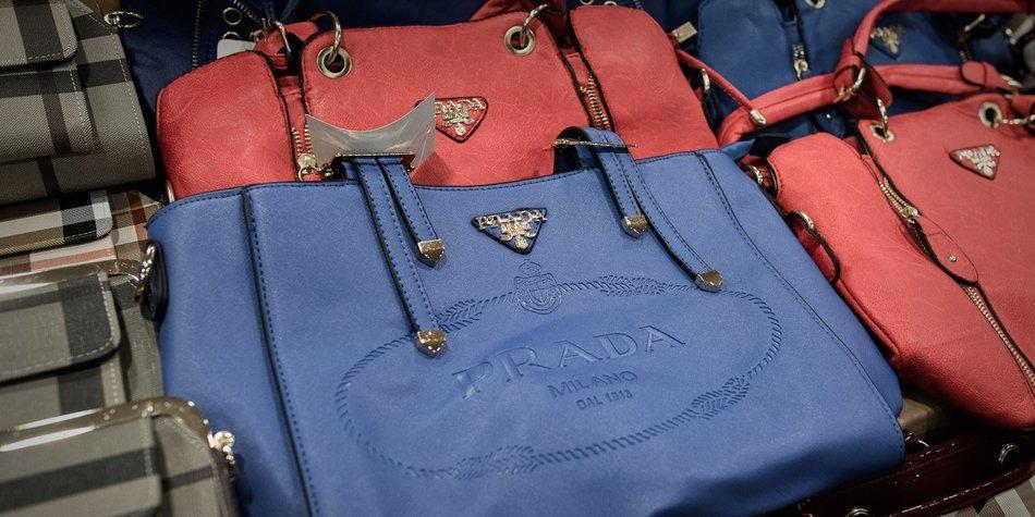 Gefälschte Handtaschen sind ein NoGo