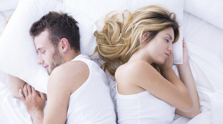 Schlafpositionen