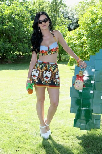 Katy Perry auf einem Festival