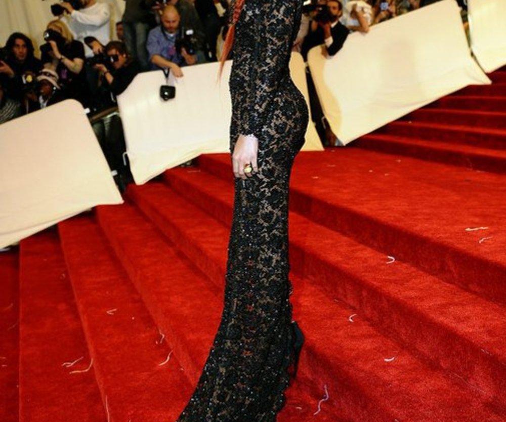 Rihanna in Alexander McQueen
