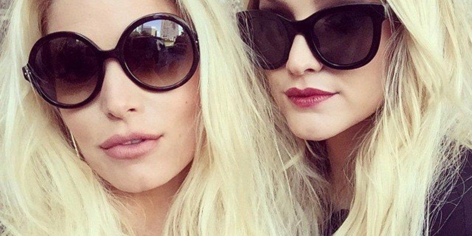 Jessica Simpson und Ashlee Simpson: Blondinenpower im Doppelpack!