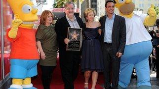 Die Simpsons auf dem Walk of Fame