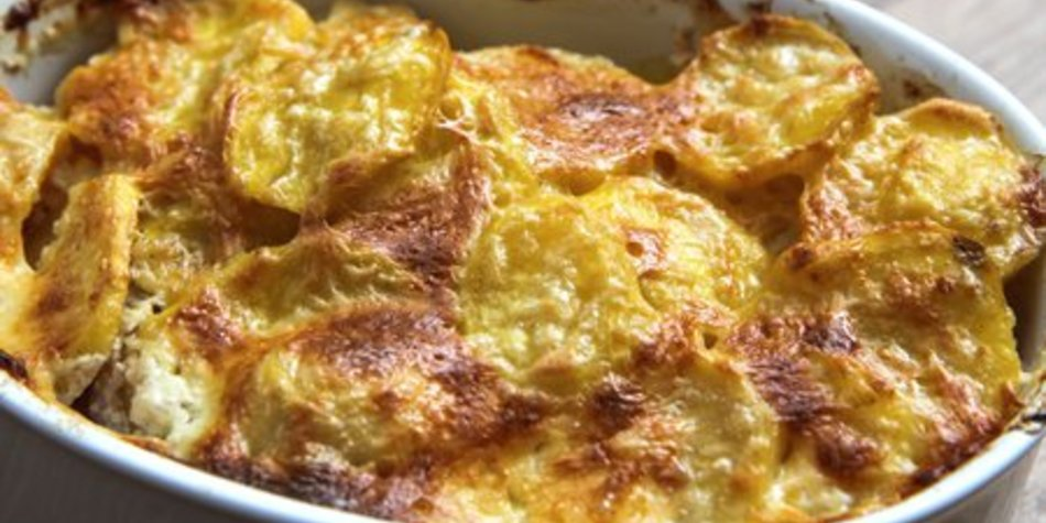 Kartoffeln Zucchini Auflauf