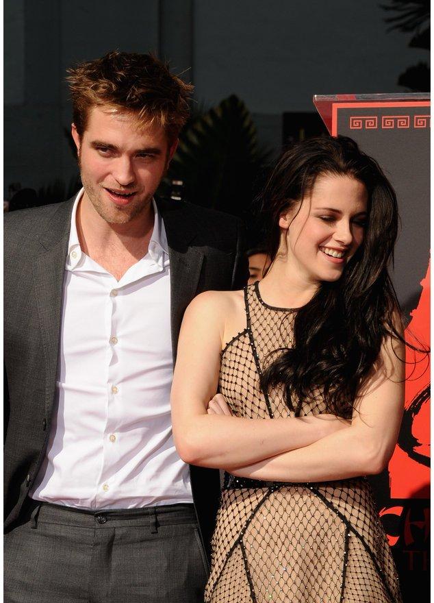 Robert Pattinson und Kristen Stewart wenden sich ab