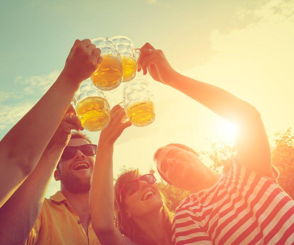 Das Leben Feiern Sommer Sonne Gemeinschaftszeit Compassioner ...