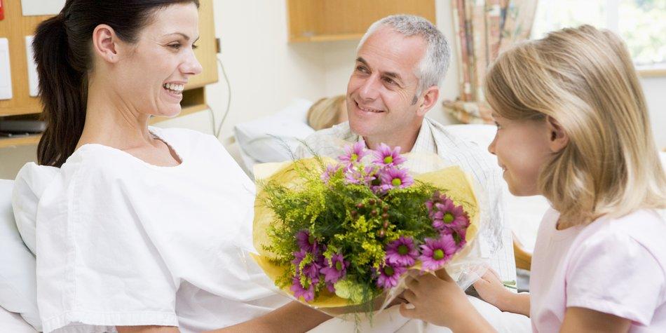 Geschenk Krankenhaus