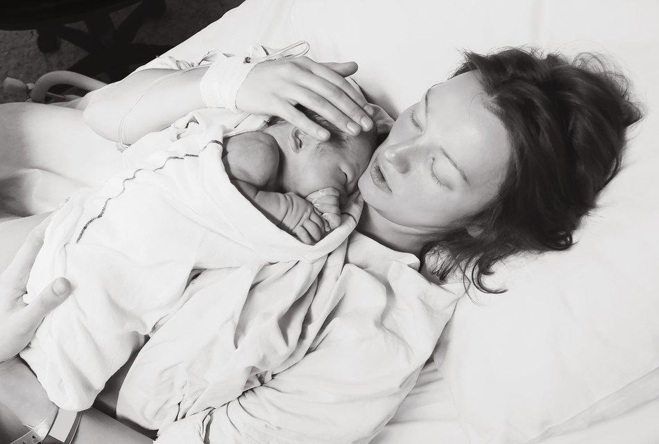 Schmerzen nach der Geburt