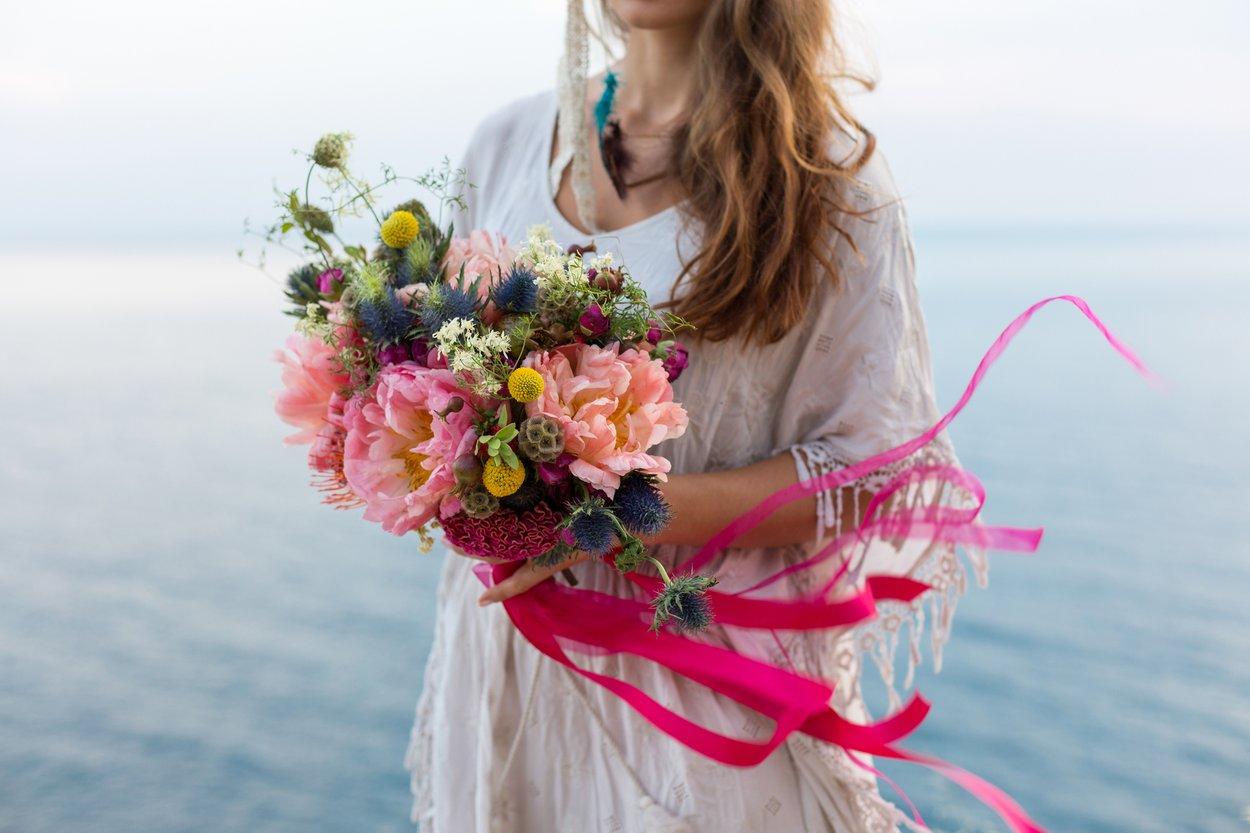 Der Bohème-Stil ist in diesem Jahr auch auf Hochzeiten angesagt.