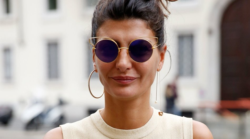 MILAN, ITALY - SEPTEMBER 27: Designer Giovanna Battaglia is seen during the Milan Fashion Week Spring/Summer 16 on September 27, 2015 in Milan, Italy. (Photo by Sebastian Reuter/Getty Images)