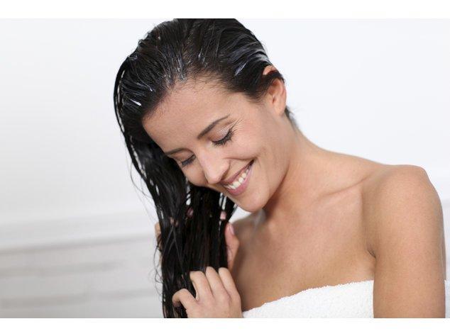Conditioner tut den Haaren gut