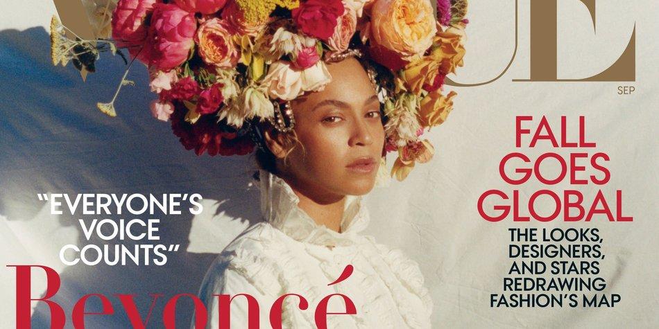 Beyoncé Vogue Shooting