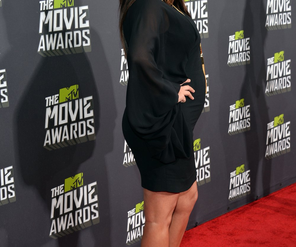 Kim Kardashian kontert mit Babybauch-Pic