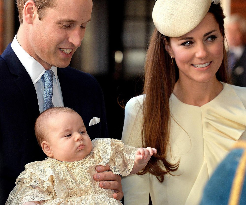 Prinz George ist getauft