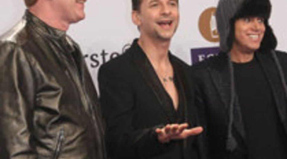 Depeche Mode-Sänger erkrankt