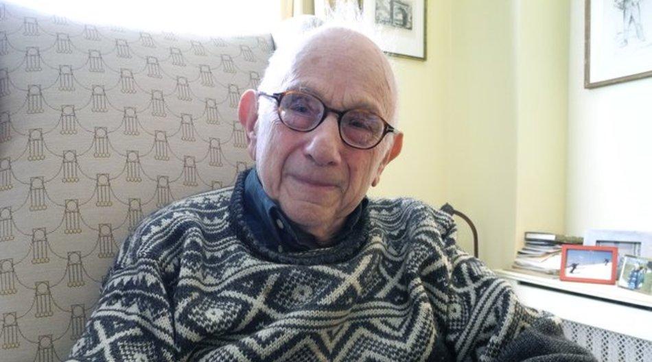 Fritz Stern am 27.