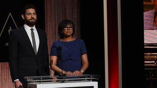 John Krasinski und Cheryl Boone Isaacs verlesen die Nominierungen