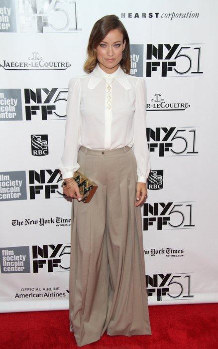 Olivia Wilde in New York
