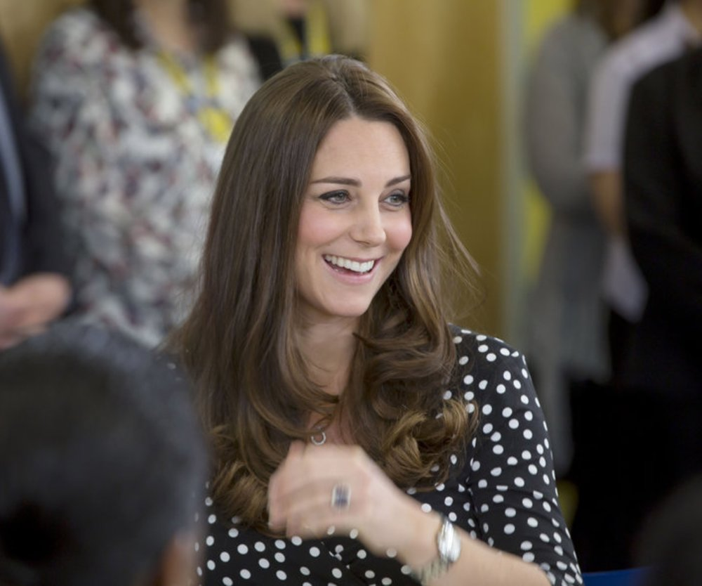 Kate Middleton plaudert den Geburtstermin aus