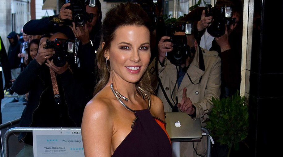 """LONDON, ENGLAND - MAY 24: Kate Beckinsale attends the UK premiere """"Love And Friendship"""" at The Curzon Mayfair on May 24, 2016 in London, England. (Photo by Ben A. Pruchnie/Getty Images)"""