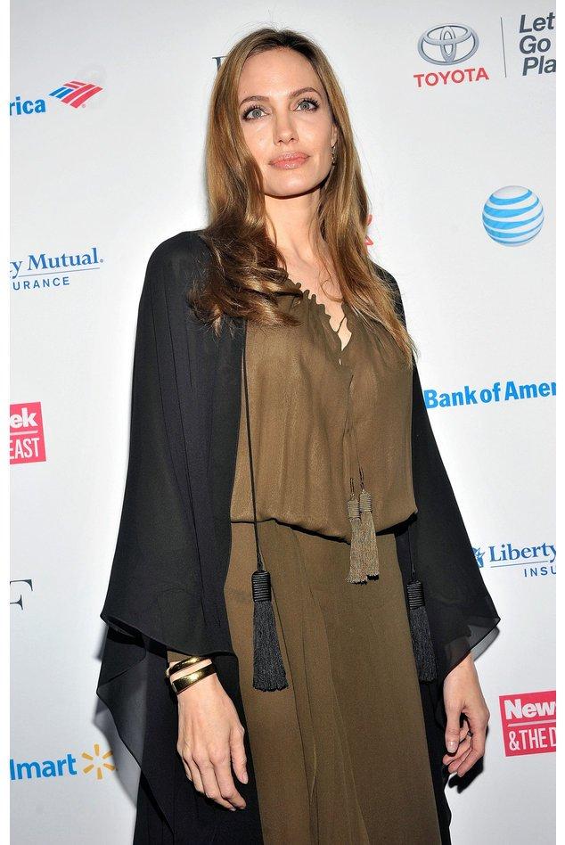 Angelina Jolie auf dem roten Teppich